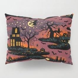 Halloween Night - Bonfire Glow Pillow Sham