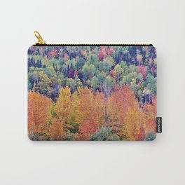 Paint By Nature - Fall Foliage Carry-All Pouch