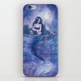 Moonlight Mermaid iPhone Skin