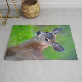 Sitka Black-Tail Fawn Rug