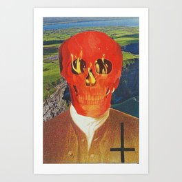 Demon Vacation  Art Print