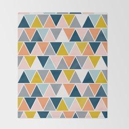 Triangulum Retreat Throw Blanket