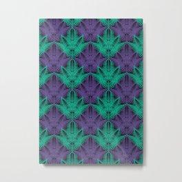UV Jungle #society6 #ultraviolet #pattern Metal Print