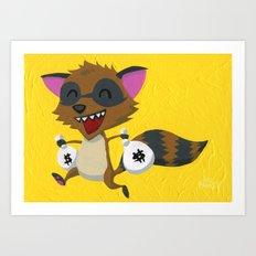 Bandit Art Print