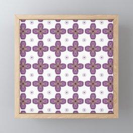 Faux Cross Stitch Framed Mini Art Print