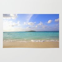 beach Area & Throw Rugs featuring Beach by 2sweet4words Designs