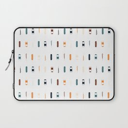 Vintage Vaccines - Small on White Laptop Sleeve