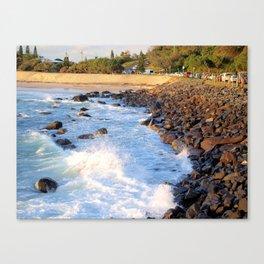 Duranbah Beach Canvas Print