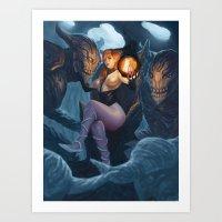 Soul reapers Art Print
