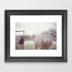 well hello Framed Art Print