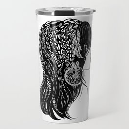Bohemian Girl Travel Mug