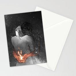 I would light you up. Stationery Cards