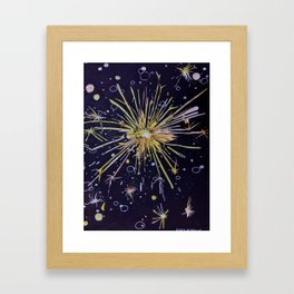 There is a Spark Framed Art Print