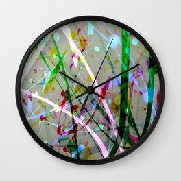 Abstract No. 4 Wall Clock