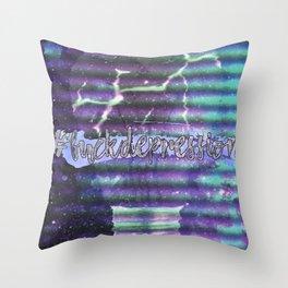 #fuckdepression Throw Pillow