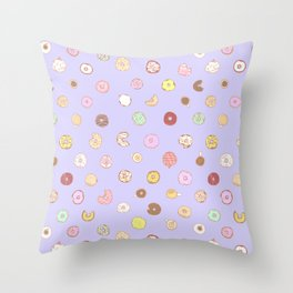 Donut You Want Some 03 Throw Pillow