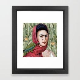 Frida Vida Framed Art Print