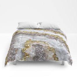 Geode Art Comforters