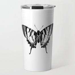 Minimalista borboleta 2 Travel Mug