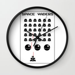 Space Vaders Wall Clock