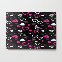 Love patterns, love Metal Print