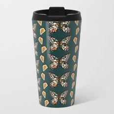 Mary's Butterfly Garden Metal Travel Mug