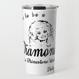 Diamond Dolly Travel Mug