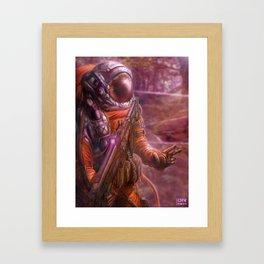 Deployed Framed Art Print