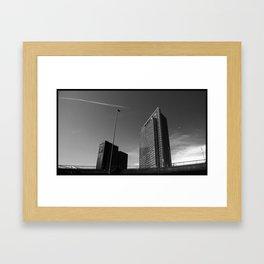 buildings @ Oslo Framed Art Print