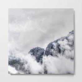 Fog and clouds Metal Print