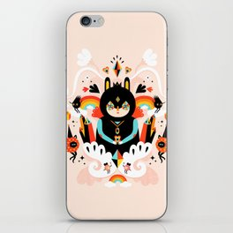 Rainbow Queen iPhone Skin