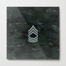 Master Sergeant (Urban Camo) Metal Print