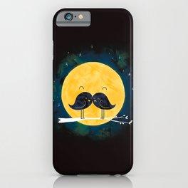 Moonstache iPhone Case
