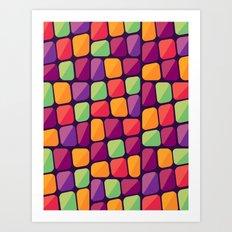 C13D BrickBlocks Art Print