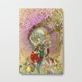 """bedelgeuse - """"everything is within"""" anatomical collage art Metal Print"""