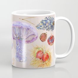 Winter Wood Blewits - Cosy Coffee Mug