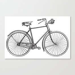 I want to ride my bicycle Canvas Print