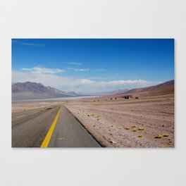 The Desert Road Canvas Print