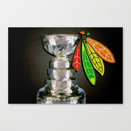 Polycup Poster Canvas Print