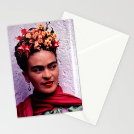 Frida in color Stationery Cards