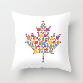 United Canada Throw Pillow