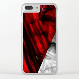 RedSmoke Clear iPhone Case