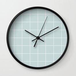 #c6d7d8 Wall Clock