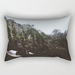 Hidden Mountains Rectangular Pillow