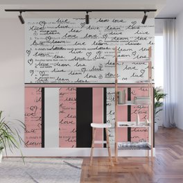 Home Work, Scribbles & Stripes Wall Mural