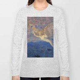 "Edward Robert Hughes (1851-1914) ""Wings of the Morning"" Long Sleeve T-shirt"