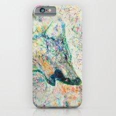 Energetic Howling Wolf iPhone 6s Slim Case