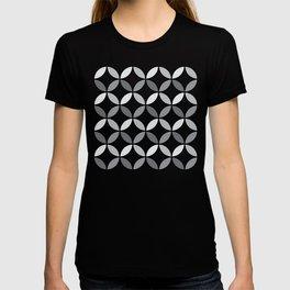 Circle Pattern -Gray01 T-shirt