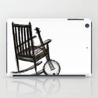banjo iPad Cases featuring Grandma's Banjo by LeahOwen