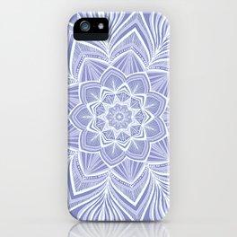 Violet Bloom Crown Chakra iPhone Case
